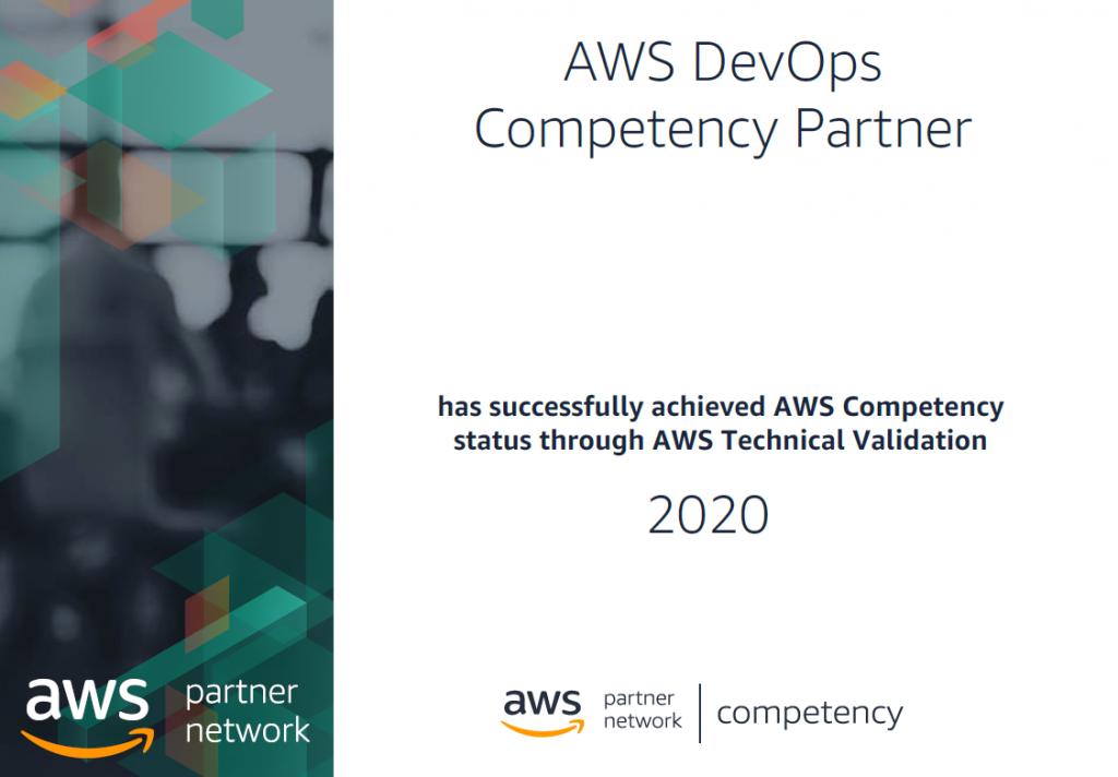 Certyfikat AWS DevOps Competency